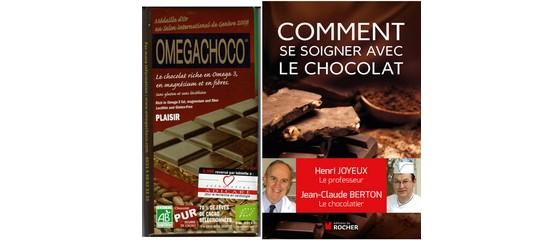 Et si vous vous soigniez avec le chocolat Omegachoco ?
