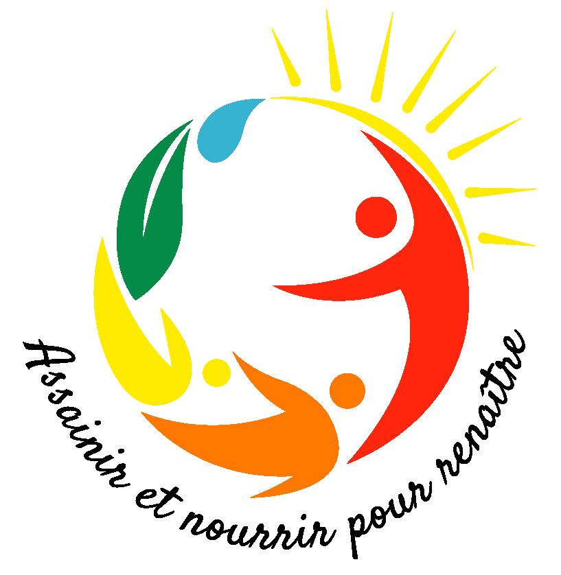 """histoires-de-guerisons.com logo """"Assainir et nourrir pour renaître"""""""